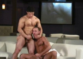 Video Lounge Threesome