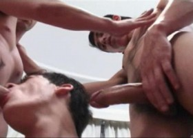 Sexy Latin Threesome