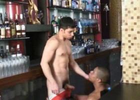 Latin Muscle Bar Fuck