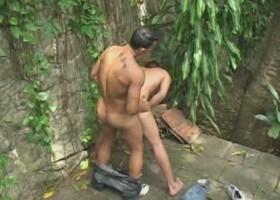Brazilian Jungle Threesome