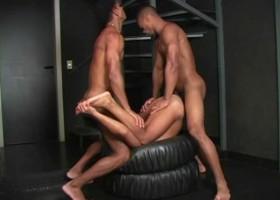 Big Brazilian Cock Threesome