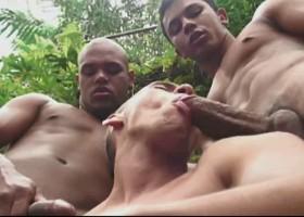 Spit Roasting Sex Orgy