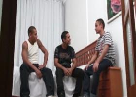 Joam Jorge, Erico Pires and Fabiam Oliveira
