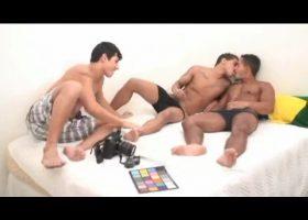 Horacio, Renato and Josue