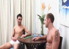 Manuel Lozano and Samuel Flores