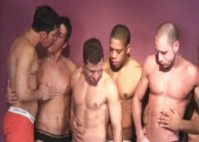 Muscular Latin Sex Orgy