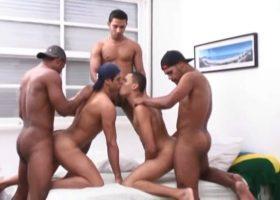 Adrian, Remingo, Brad, Marcelo and Francisco
