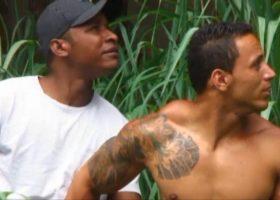 Adrian Corres and Oswaldo Mello