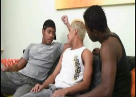 Andre, Martino and Leandro